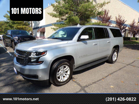 2017 Chevrolet Suburban for sale at 101 MOTORS in Hasbrouck Heights NJ