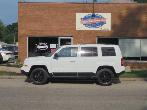 2015 Jeep Patriot for sale at Eyler Auto Center Inc. in Rushville IL
