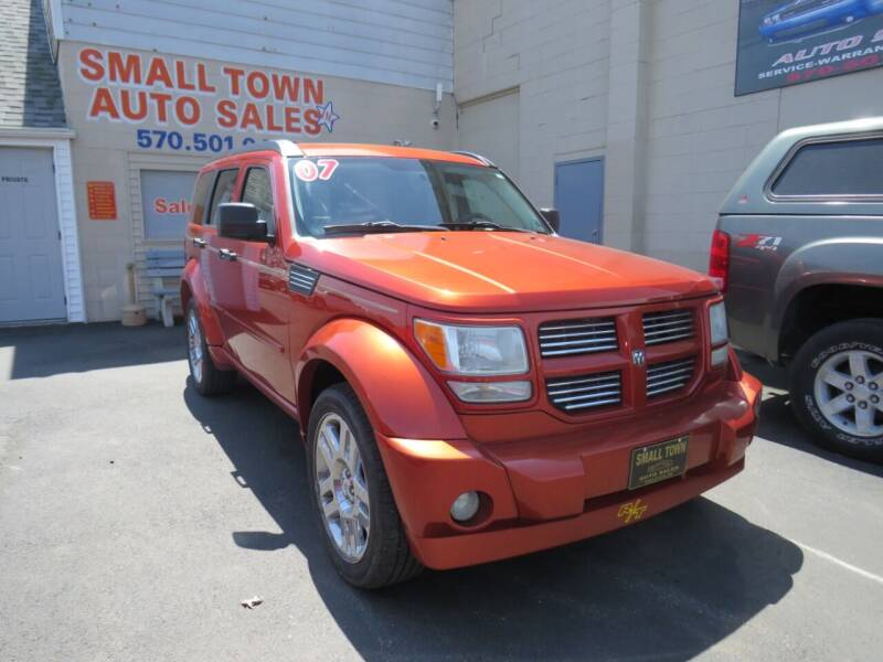 2007 Dodge Nitro for sale at Small Town Auto Sales in Hazleton PA