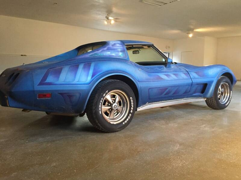1977 Chevrolet Corvette for sale at LEATHER AND WOOD MOTORS in Pontoon Beach IL