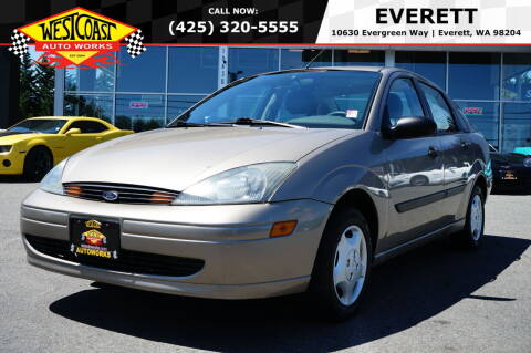 2003 Ford Focus for sale at West Coast Auto Works in Edmonds WA
