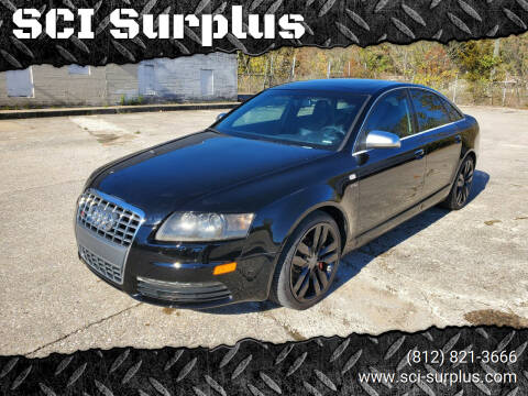 2008 Audi S6 for sale at SCI Surplus in Bloomington IN