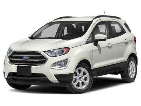 2020 Ford EcoSport for sale at Hawk Ford of St. Charles in St Charles IL