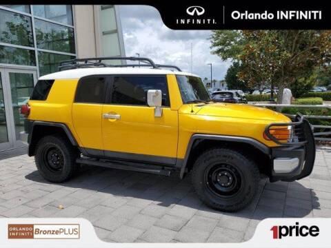 2009 Toyota FJ Cruiser for sale at Orlando Infiniti in Orlando FL