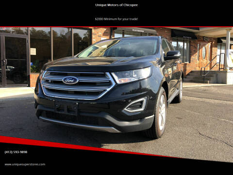 2017 Ford Edge for sale at Unique Motors of Chicopee in Chicopee MA