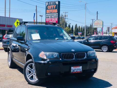 2006 BMW X3 for sale at City Motors in Hayward CA