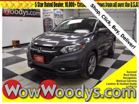 2017 Honda HR-V for sale at WOODY'S AUTOMOTIVE GROUP in Chillicothe MO