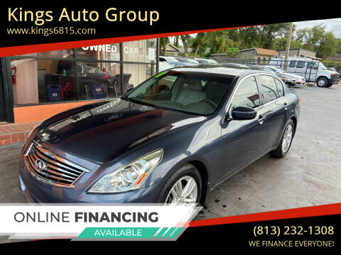 2011 Infiniti G37 Sedan for sale at Kings Auto Group in Tampa FL