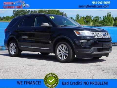 2019 Ford Explorer for sale at Sunny Florida Cars in Bradenton FL