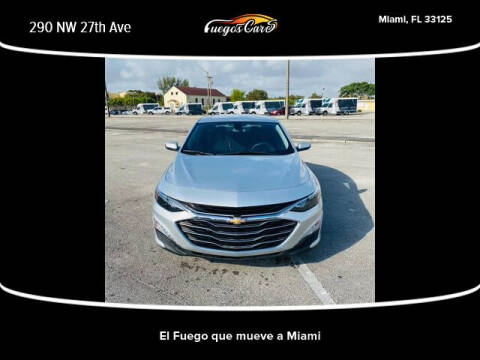 2017 Chevrolet Malibu for sale at Fuego's Cars in Miami FL