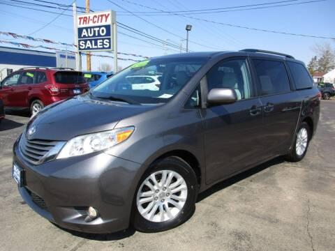 2013 Toyota Sienna for sale at TRI CITY AUTO SALES LLC in Menasha WI