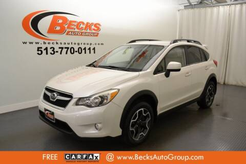 2014 Subaru XV Crosstrek for sale at Becks Auto Group in Mason OH