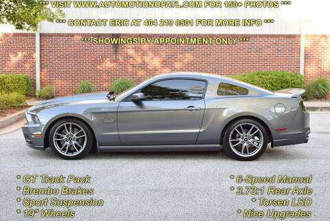2014 Ford Mustang for sale at Automotion Of Atlanta in Conyers GA
