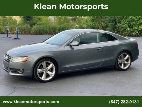 2012 Audi A5 for sale at Klean Motorsports in Skokie IL