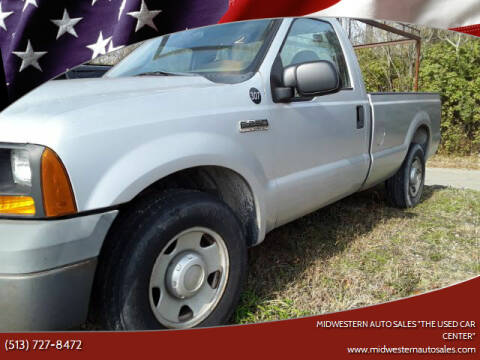 """2006 Ford F-250 Super Duty for sale at MIDWESTERN AUTO SALES        """"The Used Car Center"""" in Middletown OH"""