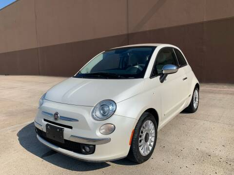 2015 FIAT 500c for sale at ALL STAR MOTORS INC in Houston TX