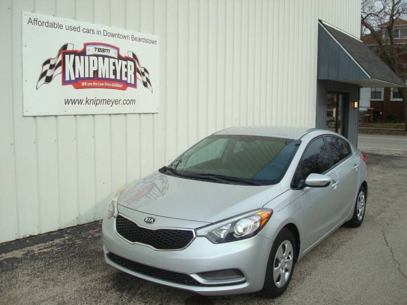 2015 Kia Forte for sale at Team Knipmeyer in Beardstown IL
