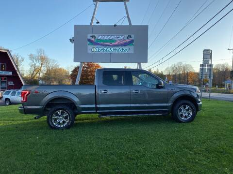 2015 Ford F-150 for sale at Pop's Automotive in Homer NY