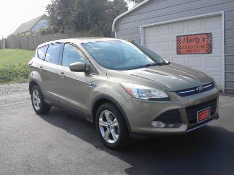 2013 Ford Escape for sale at Marty's Auto Sales in Lenoir City TN