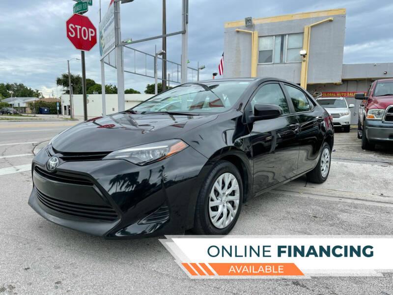 2019 Toyota Corolla for sale at Global Auto Sales USA in Miami FL