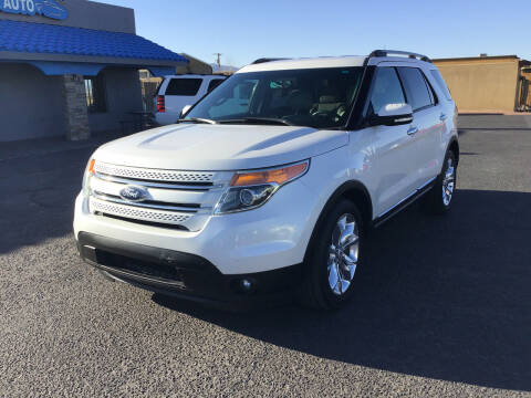 2014 Ford Explorer for sale at SPEND-LESS AUTO in Kingman AZ