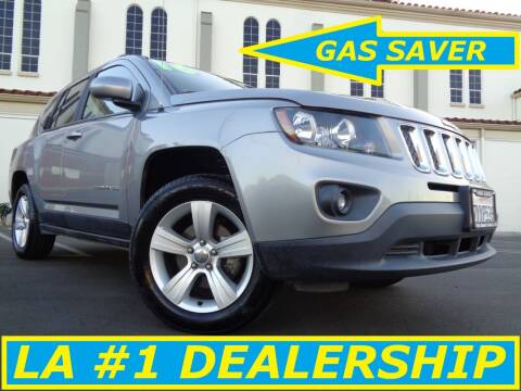 2016 Jeep Compass for sale at ALL STAR TRUCKS INC in Los Angeles CA