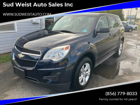 2015 Chevrolet Equinox for sale at Sud Weist Auto Sales Inc in Maple Shade NJ
