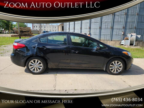 2015 Kia Forte for sale at Zoom Auto Outlet LLC in Thorntown IN