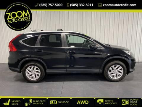 2016 Honda CR-V for sale at ZoomAutoCredit.com in Elba NY