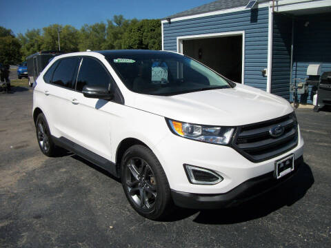 2018 Ford Edge for sale at USED CAR FACTORY in Janesville WI