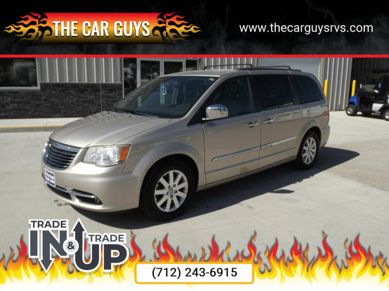 2012 Chrysler Town and Country for sale at The Car Guys RV & Auto in Atlantic IA