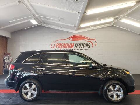 2011 Acura MDX for sale at Premium Motors in Villa Park IL