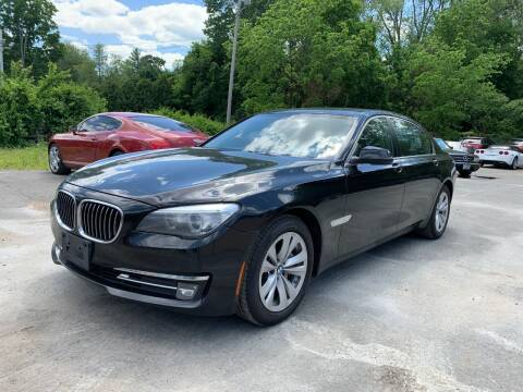 2015 BMW 7 Series for sale at Velocity Motors in Newton MA