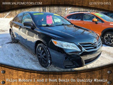 2010 Toyota Camry for sale at Valpo Motors Inc. in Valparaiso IN