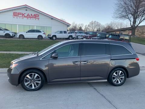 2015 Honda Odyssey for sale at Efkamp Auto Sales LLC in Des Moines IA
