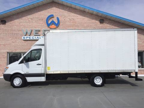 2012 Freightliner Sprinter for sale at Western Specialty Vehicle Sales in Braidwood IL