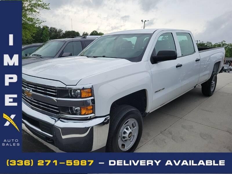 2016 Chevrolet Silverado 2500HD for sale at Impex Auto Sales in Greensboro NC