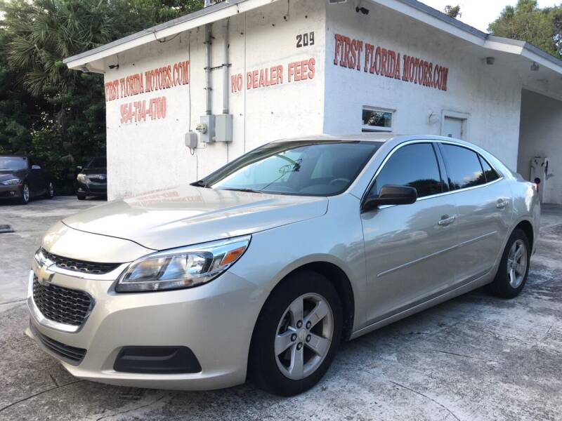 2016 Chevrolet Malibu Limited for sale at FIRST FLORIDA MOTOR SPORTS in Pompano Beach FL