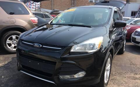 2014 Ford Escape for sale at Jeff Auto Sales INC in Chicago IL