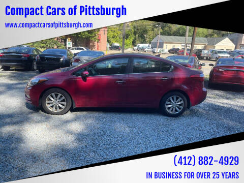 2014 Kia Forte for sale at Compact Cars of Pittsburgh in Pittsburgh PA