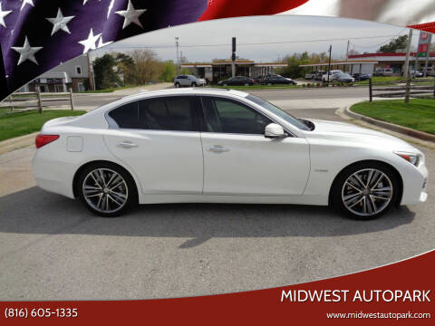 2014 Infiniti Q50 Hybrid for sale at Midwest Autopark in Kansas City MO