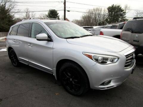 2013 Infiniti JX35 for sale at American Auto Group Now in Maple Shade NJ