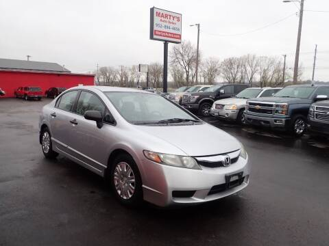 2009 Honda Civic for sale at Marty's Auto Sales in Savage MN