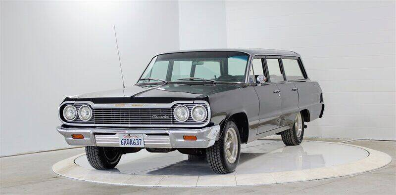 1964 Chevrolet Bel Air for sale at Mershon's World Of Cars Inc in Springfield OH