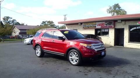 2013 Ford Explorer for sale at Aurora Auto Center Inc in Aurora IL