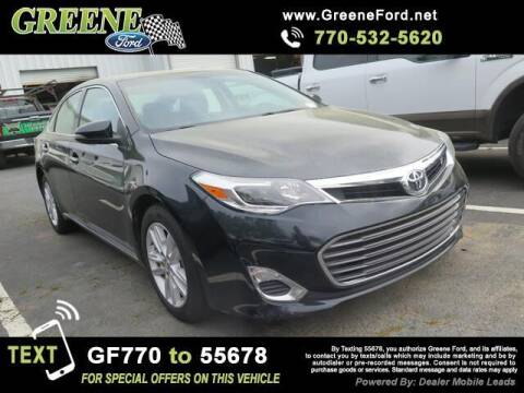 2015 Toyota Avalon for sale at Nerd Motive, Inc. - NMI in Atlanta GA