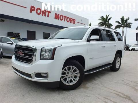 2018 GMC Yukon for sale at Automotive Credit Union Services in West Palm Beach FL