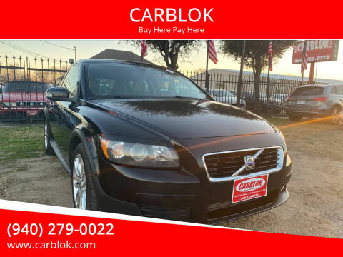 2008 Volvo C30 for sale at CARBLOK in Lewisville TX