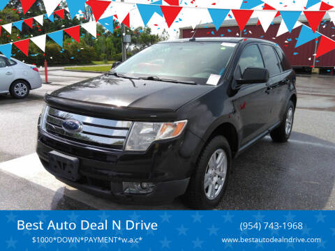 2008 Ford Edge for sale at Best Auto Deal N Drive in Hollywood FL