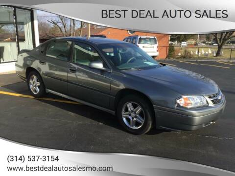 2005 Chevrolet Impala for sale at Best Deal Auto Sales in Saint Charles MO